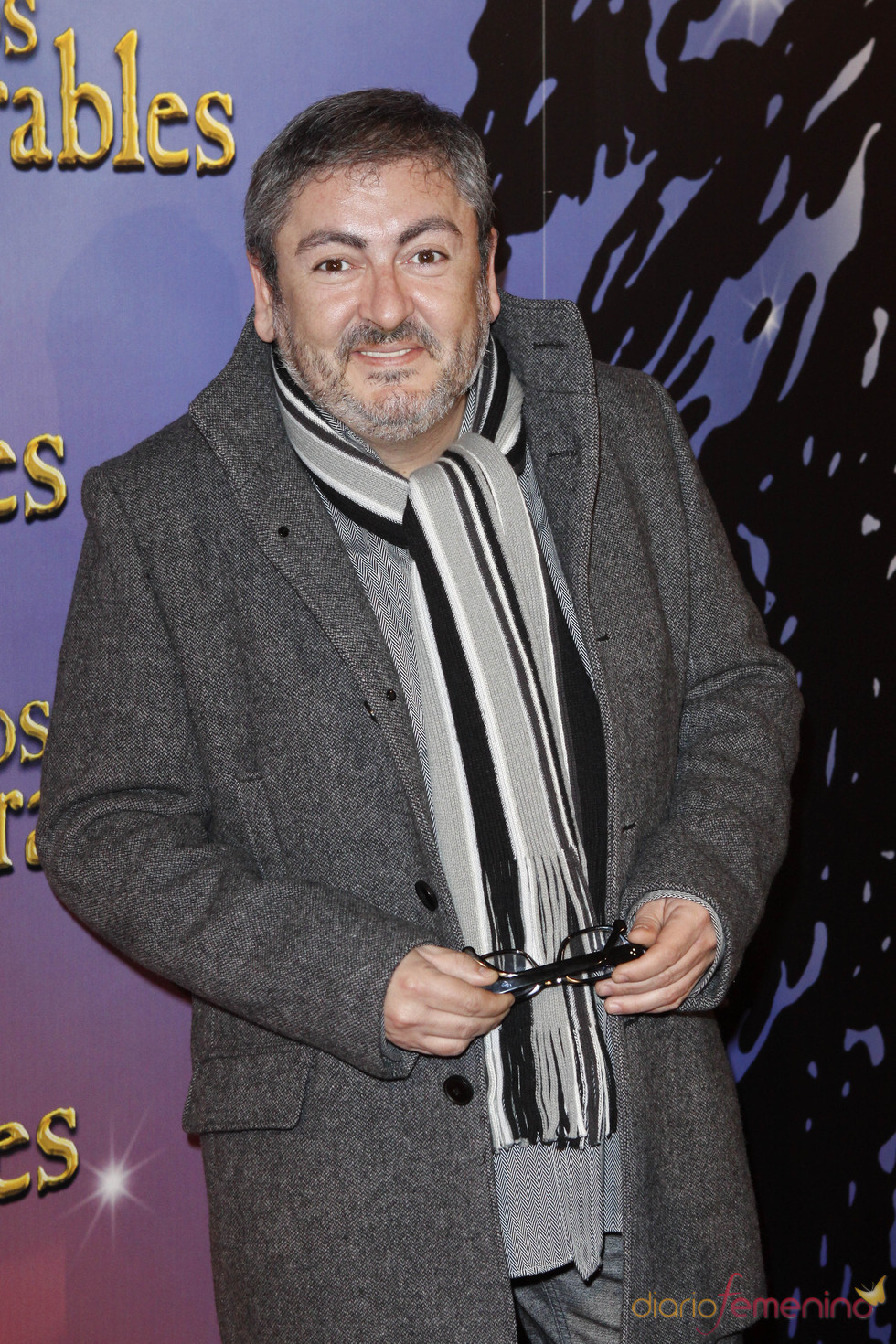 David Muro en la presentación del musical de 'Los Miserables'