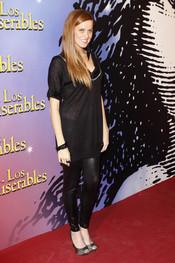 María Castro en la presentación del musical de 'Los Miserables'