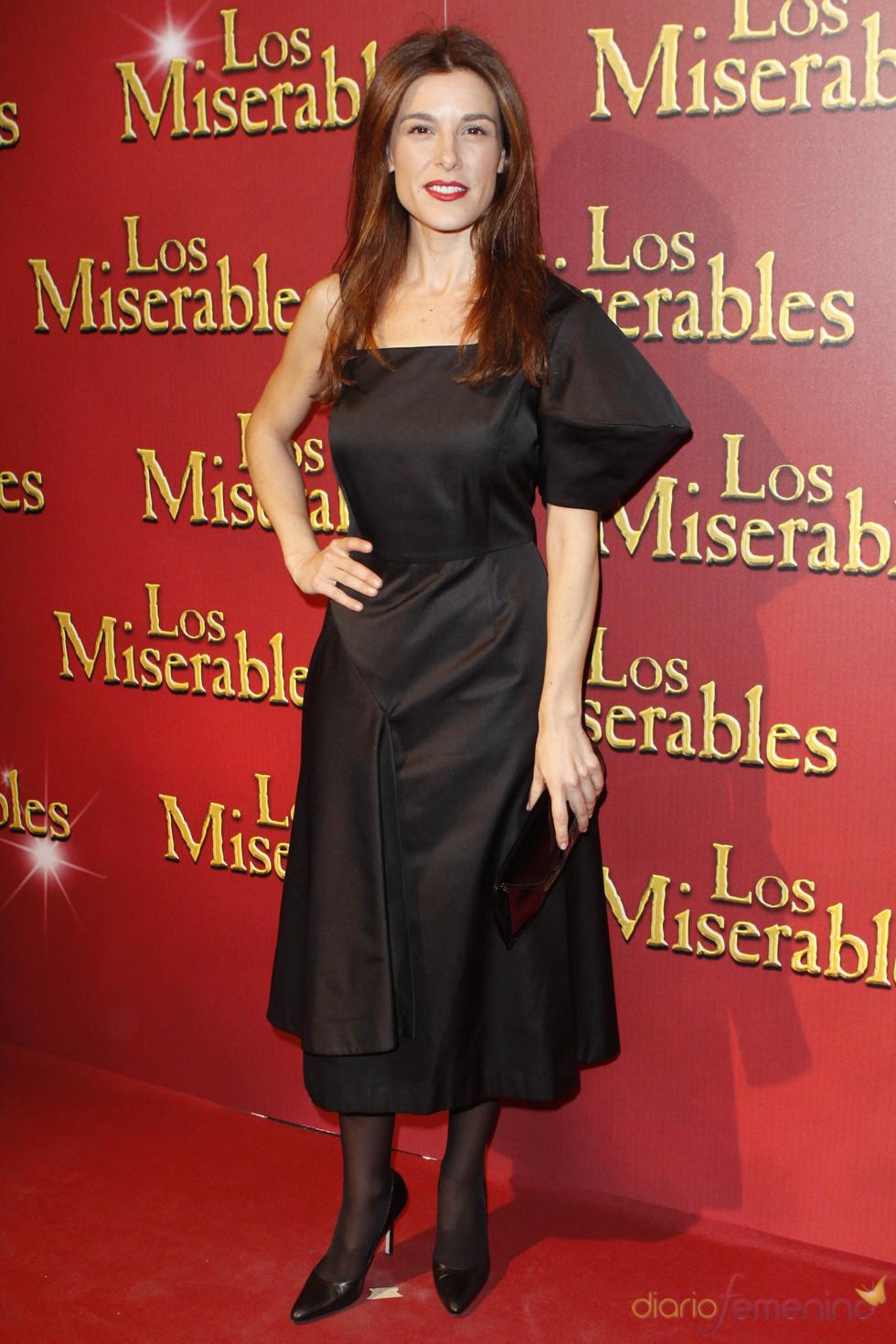 Raquel Sánchez fue a ver el musical de 'Los Miserables'