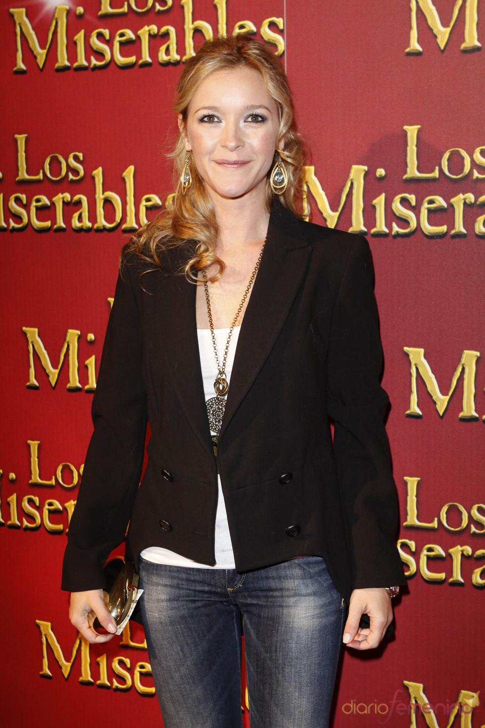 María Esteve en la presentación en Madrid de 'Los Miserables'