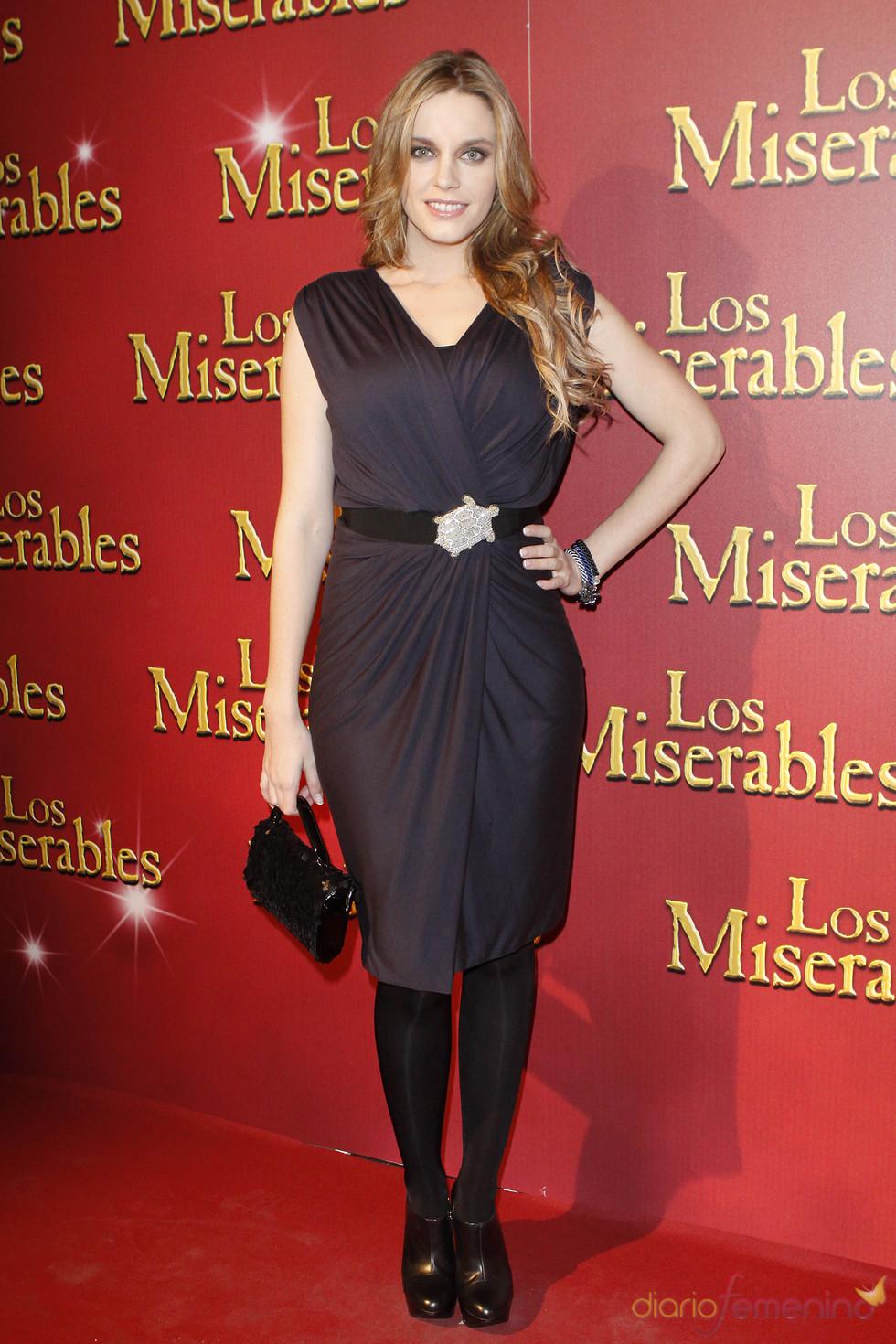 La actriz Carolina Bang en la presentación de 'Los Miserables'