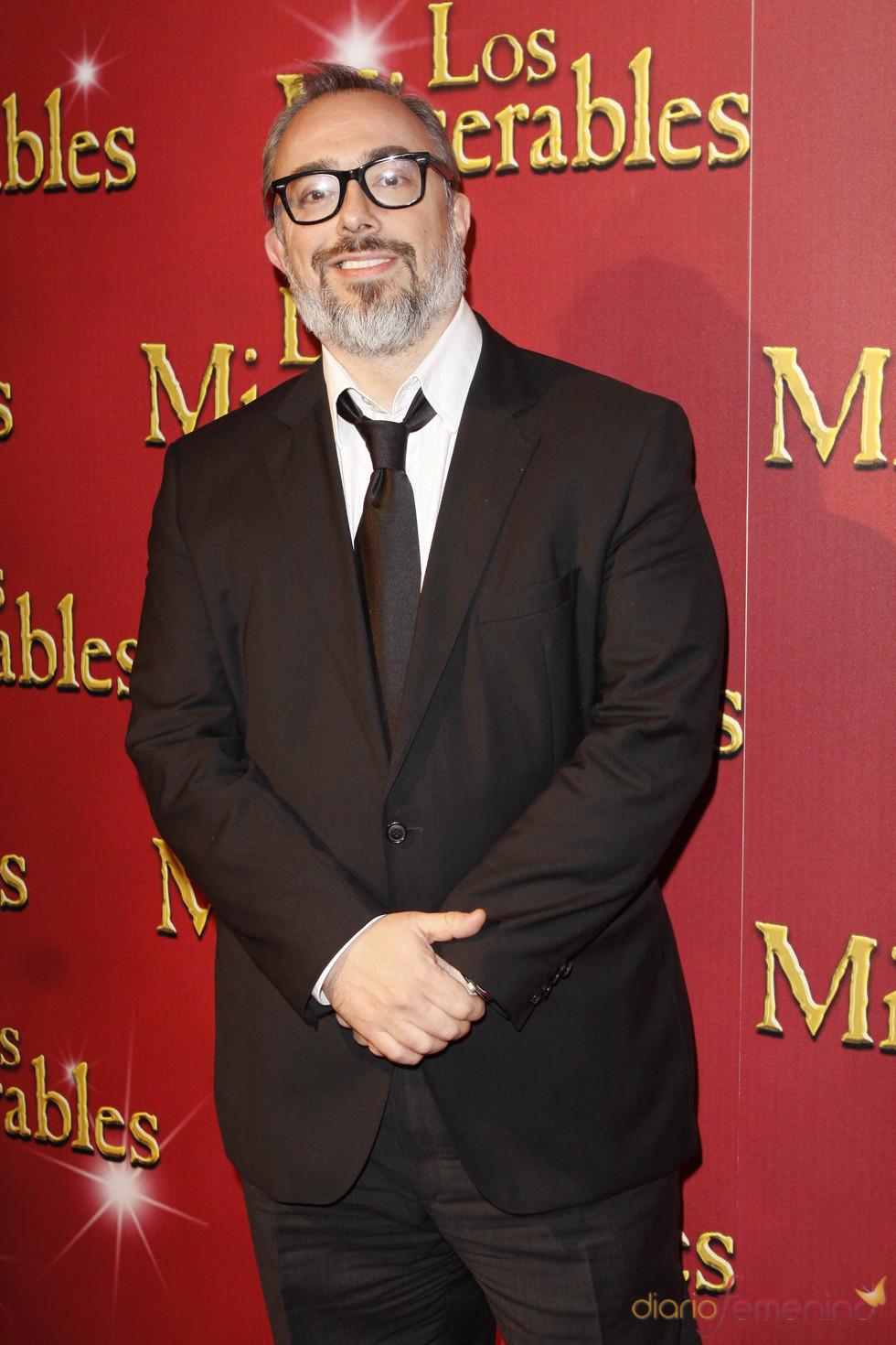 Álex de la Iglesia asistió al estreno del musical 'Los Miserables'
