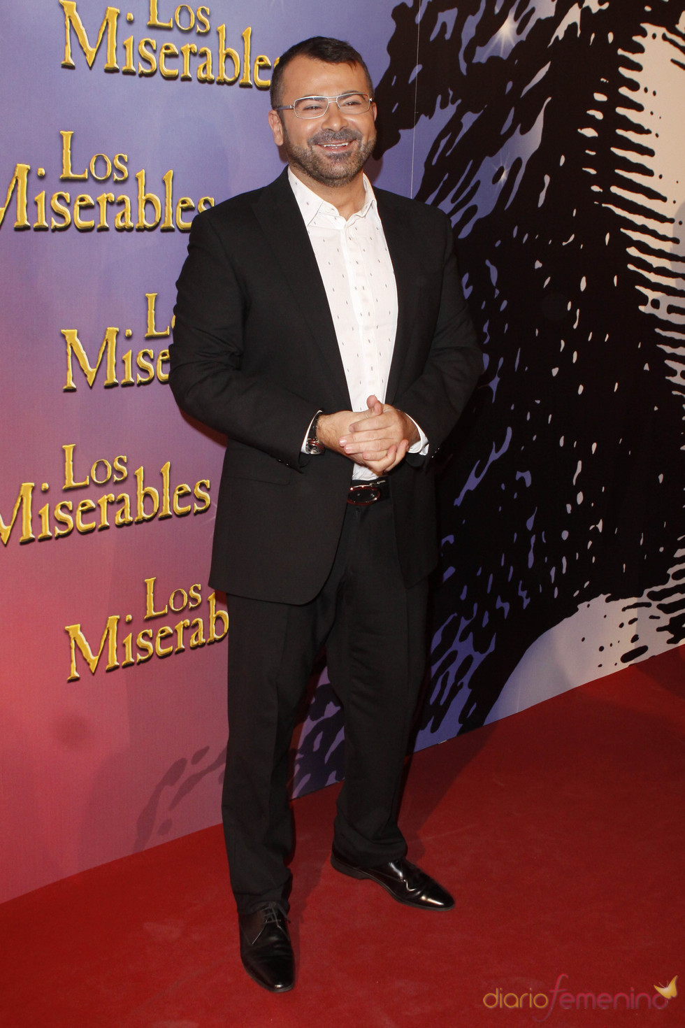 Jorge Javier Vázquez en la presentación de 'Los Miserables'