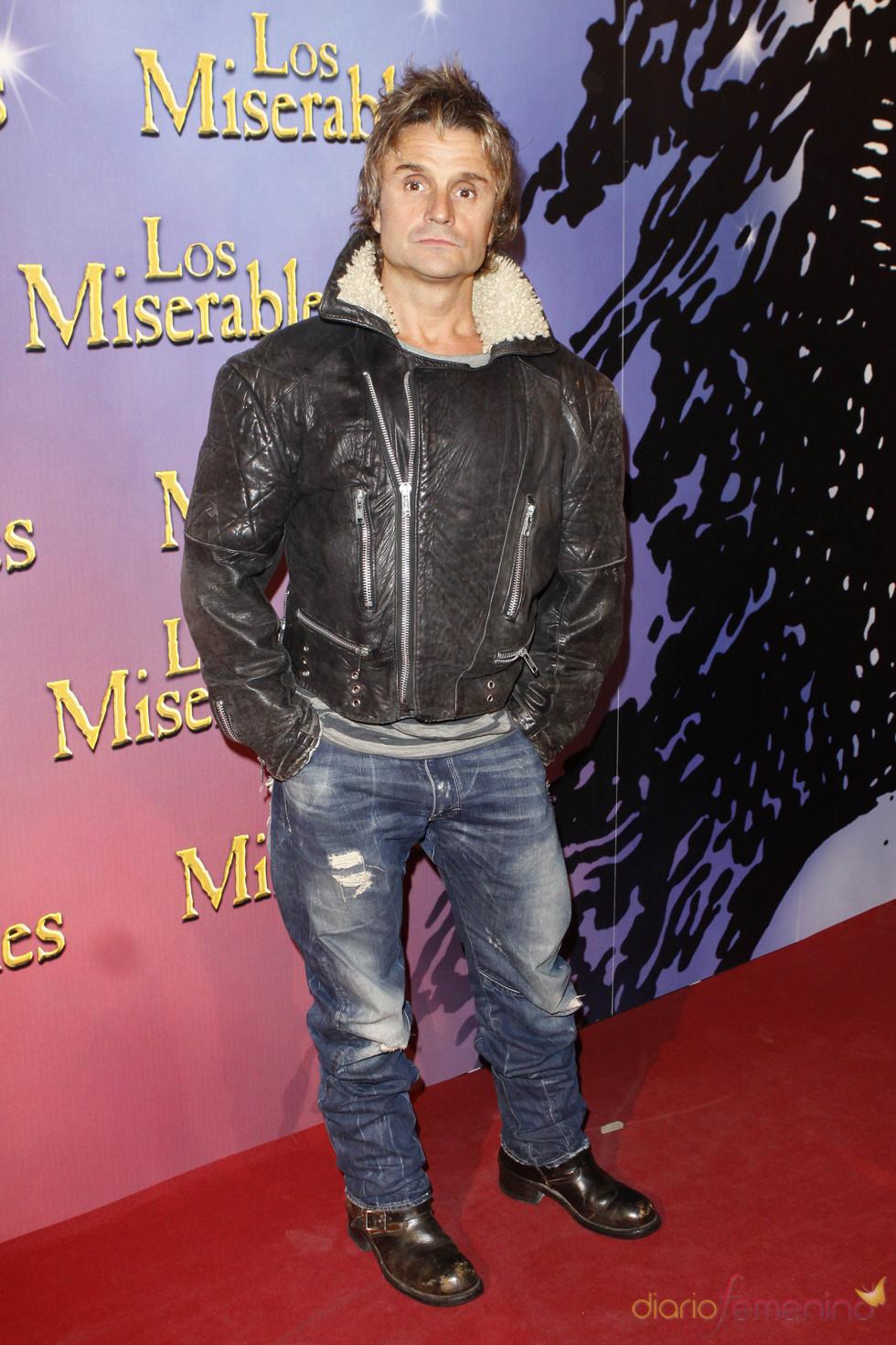 Nacho Cano fue al estreno de 'Los Miserables'