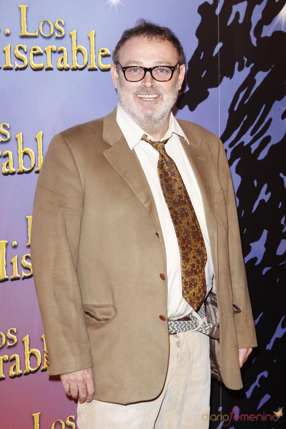 Pablo Carbonell en la presentación de 'Los Miserables' en Madrid