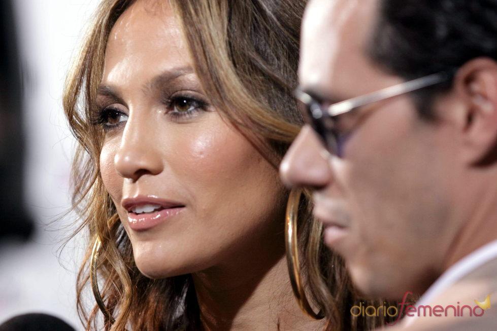Jennifer López y Marc Anhony