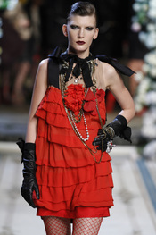 Vestido estilo cabaret de Lavin para H&M