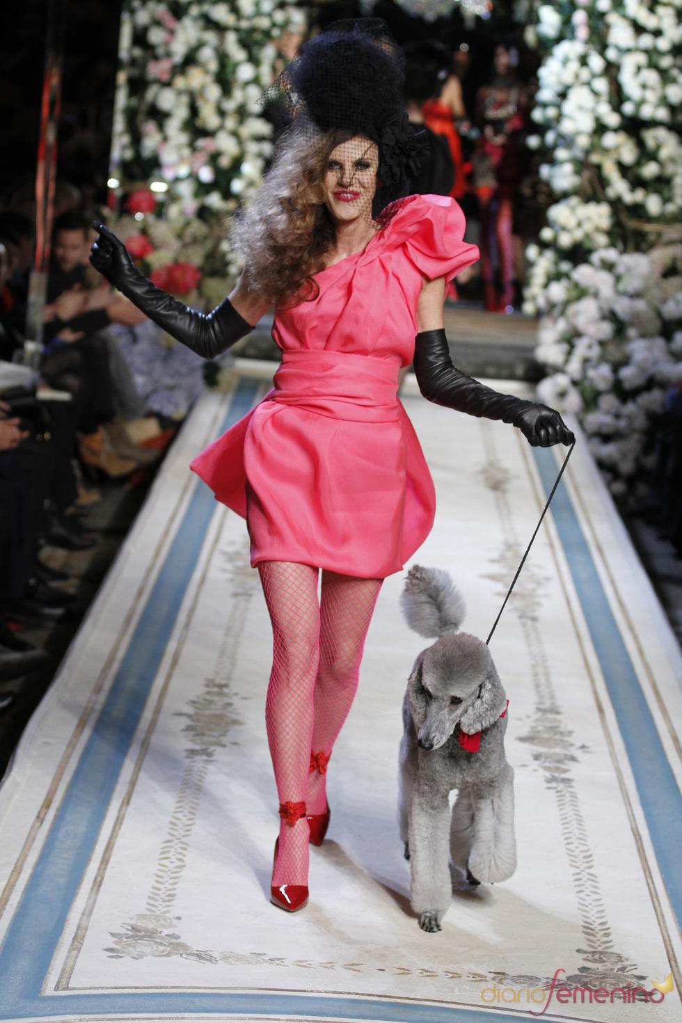 Vestido rosa chicle de Lavin para H&M