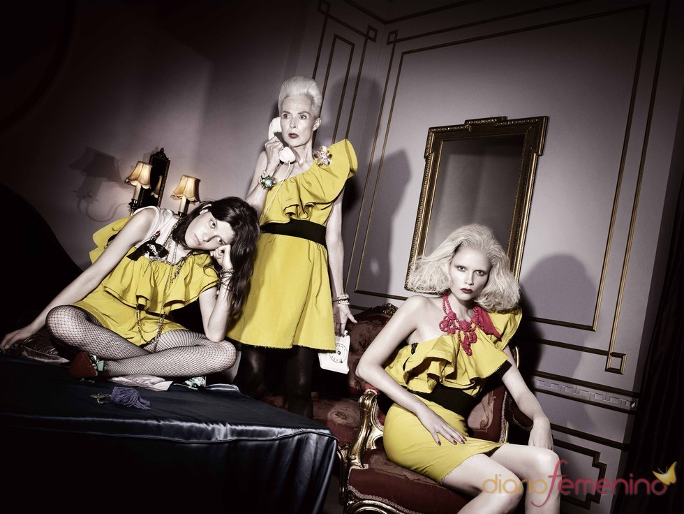Imagen de la promoción de Lavin para H&M