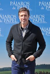 Emilio Aragón durante la presentación de 'Pájaros de papel' en Madrid