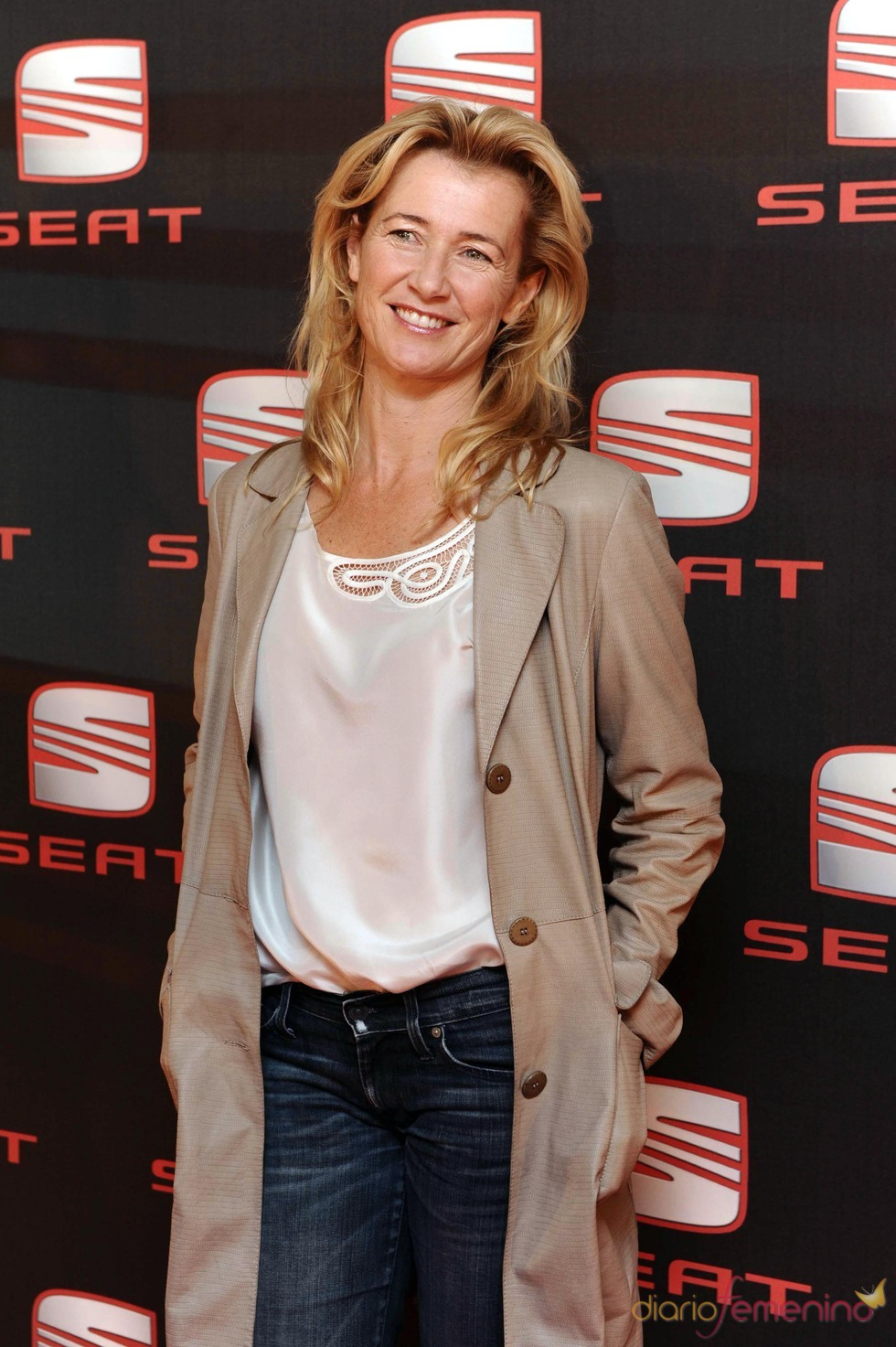 Ana Duato, en el concierto de Shakira en Madrid
