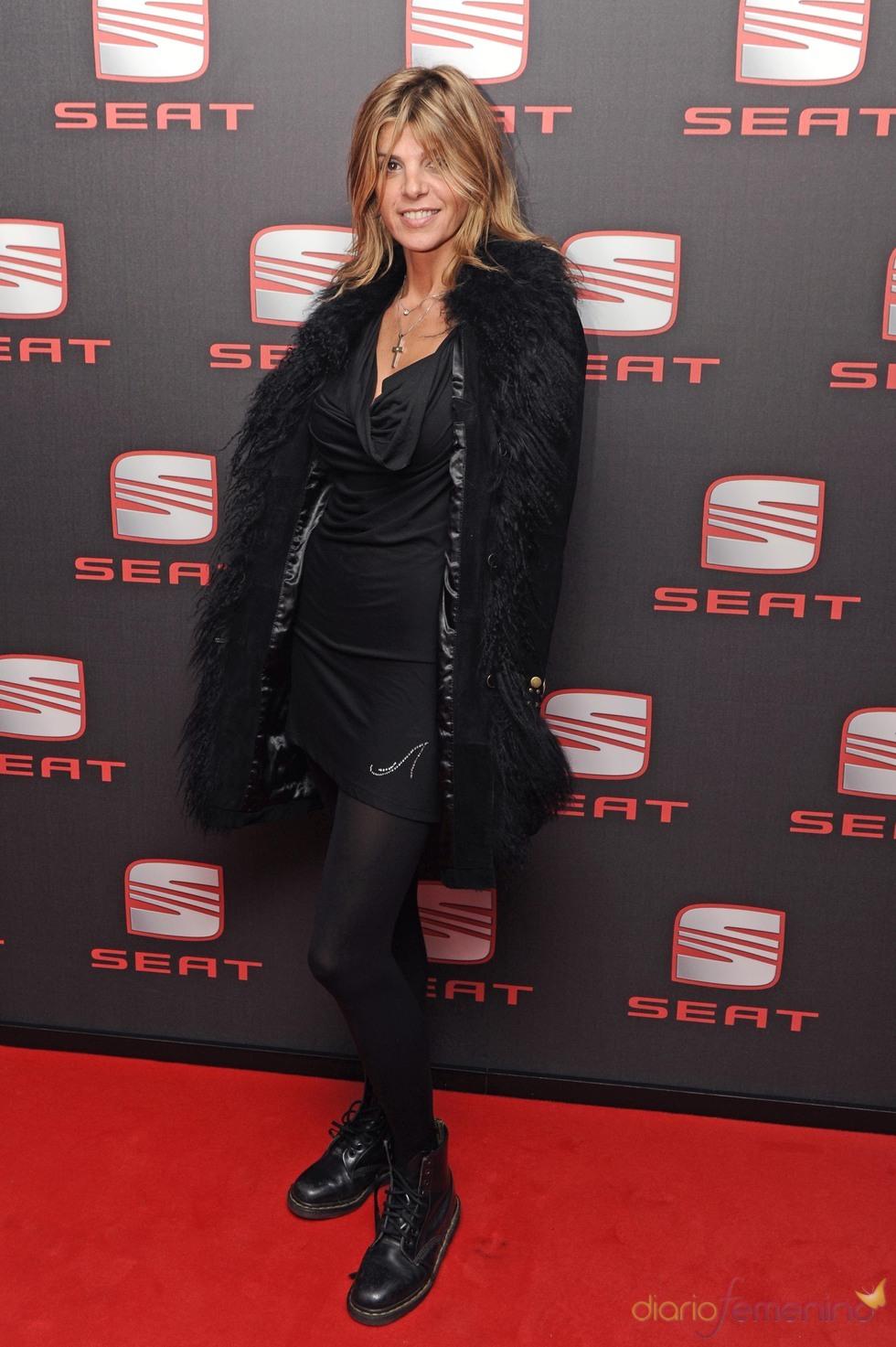 Arancha De Benito en el concierto de Shakira en Madrid