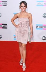 American Music Awards 2010 con Cheryl Burke