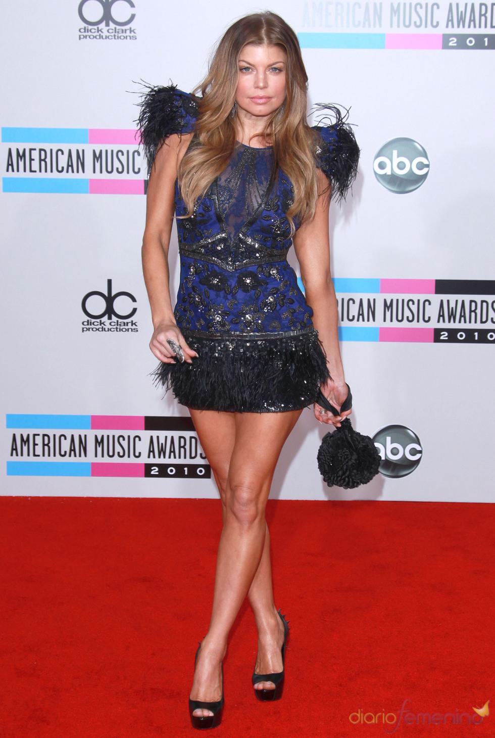 Fergie en los American Music Awards 2010
