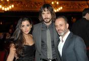 Los actores Inma Cuesta, David Janer y Javier Gutierrez en los premios Ondas 2010