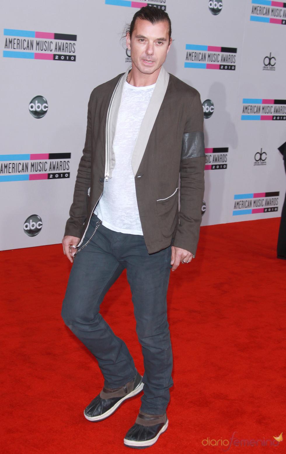 Gavin Rossdale en los American Music Awards 2010