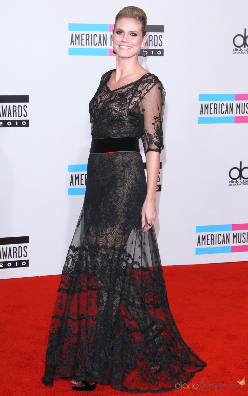 Heidi Klum en los American Music Awards 2010