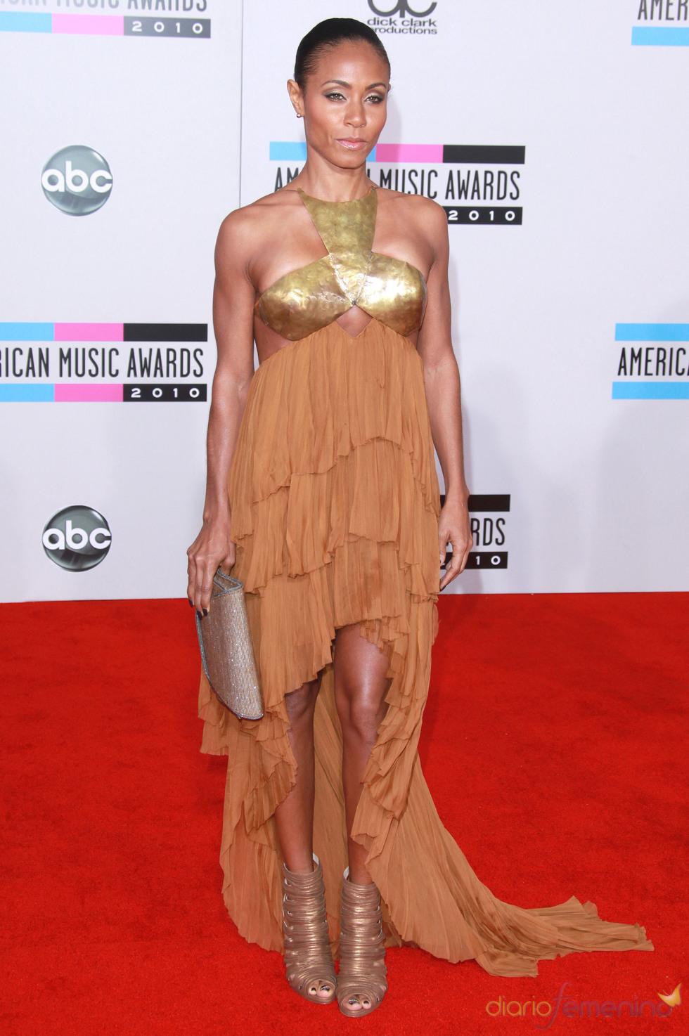 Jada Pinkett Smith en los American Music Awards 2010