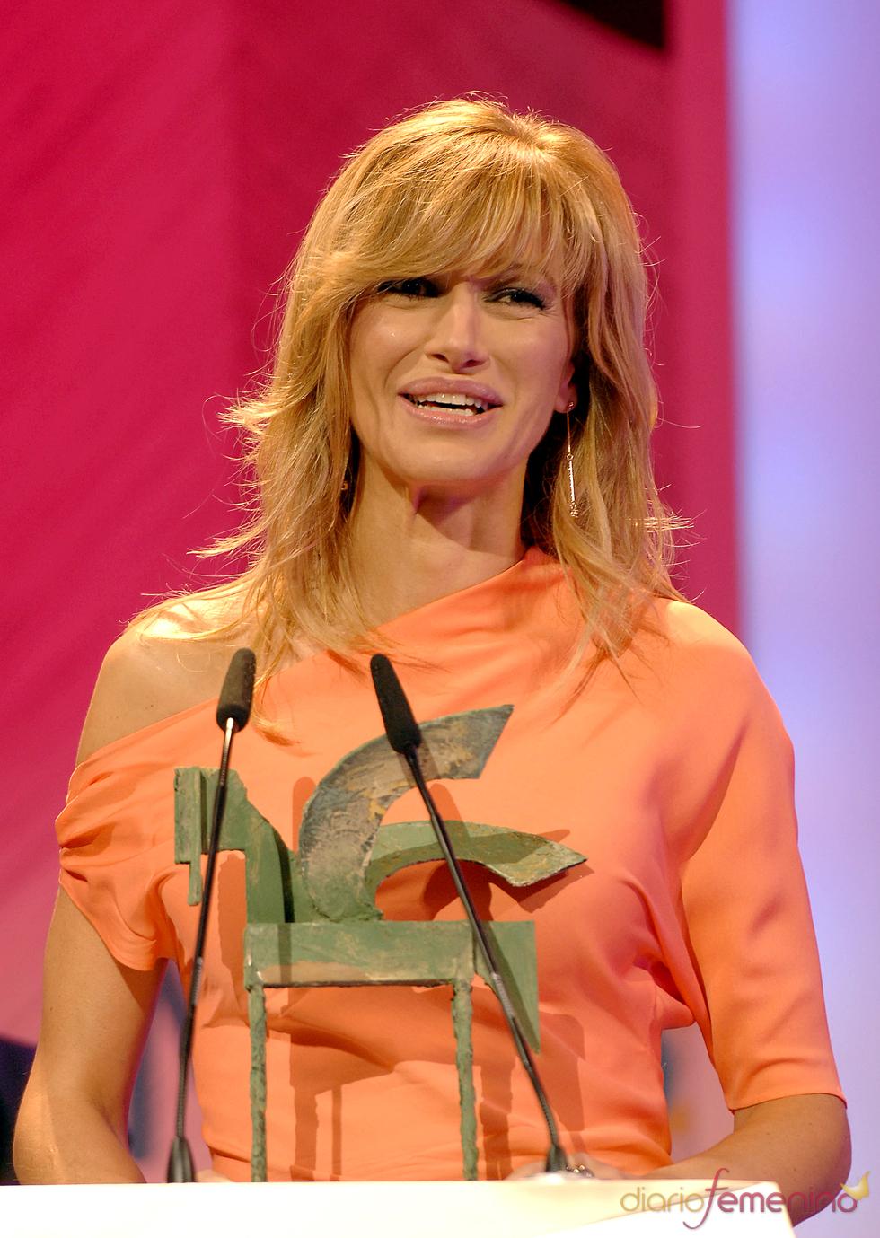 Susana Griso ganadora de un Ondas 2010