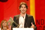 Eduardo Noriega recoge su premio Ondas 2010