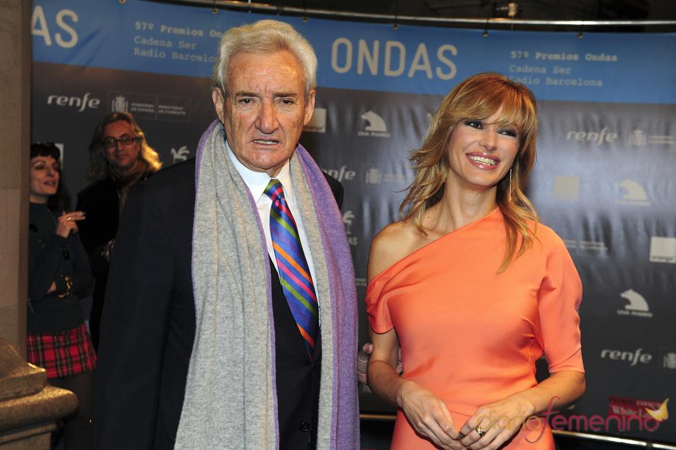 Susana Griso y Luis del Olmo en los premios Ondas 2010