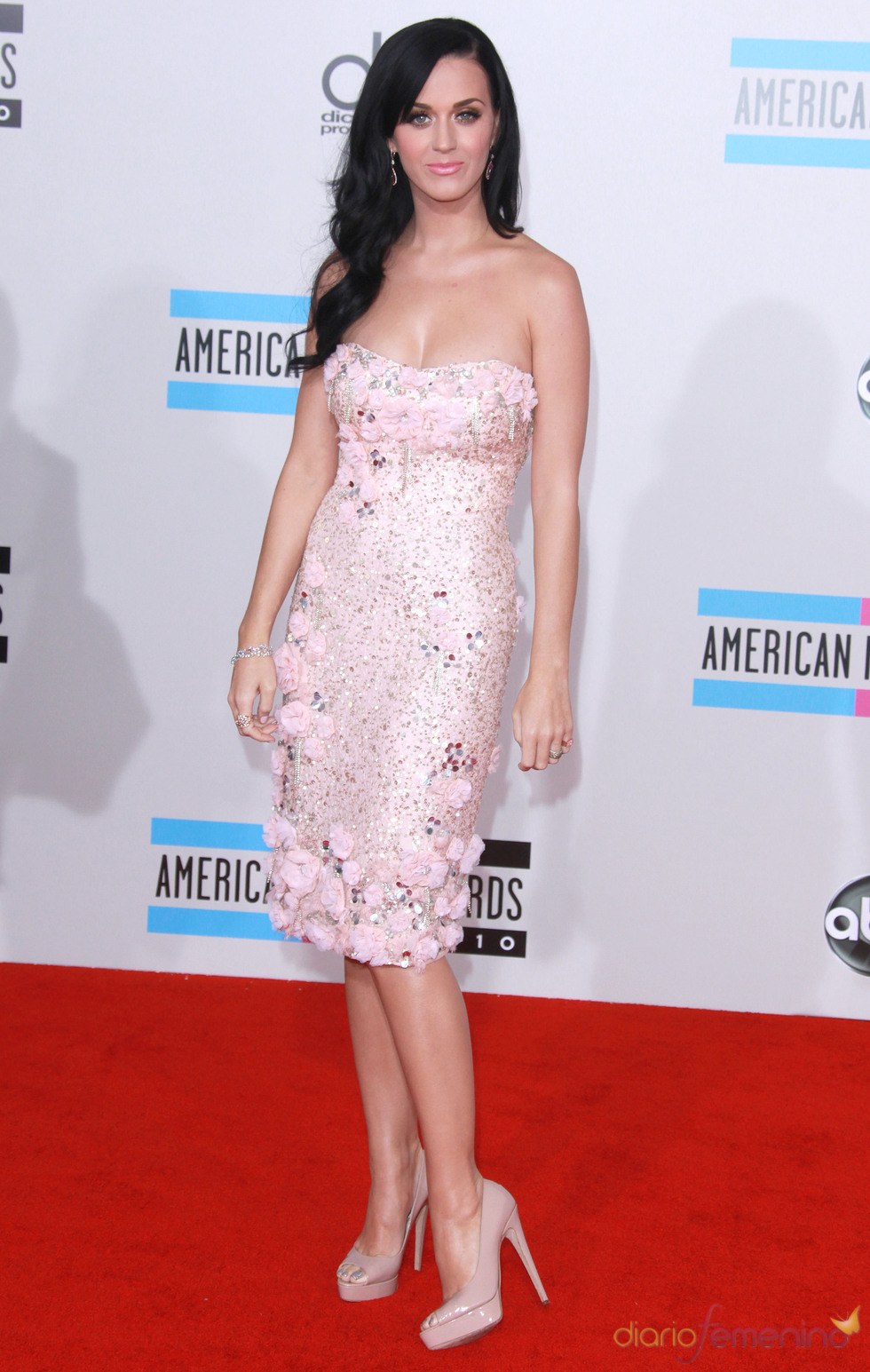 Katy Perry en los American Music Awards 2010