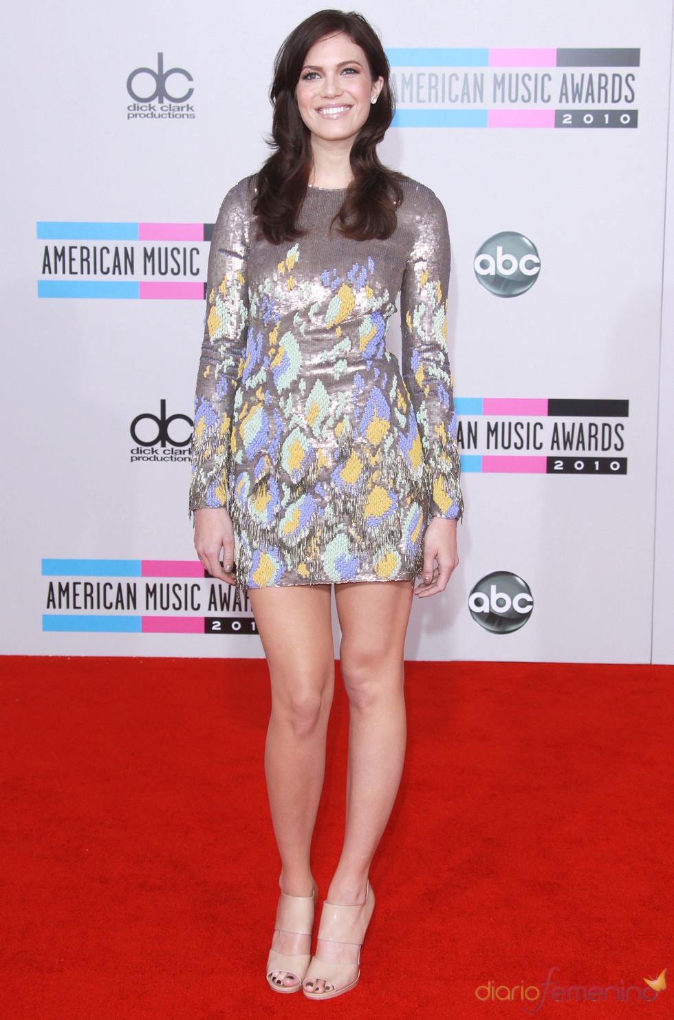Mandy Moore en los American Music Awards 2010