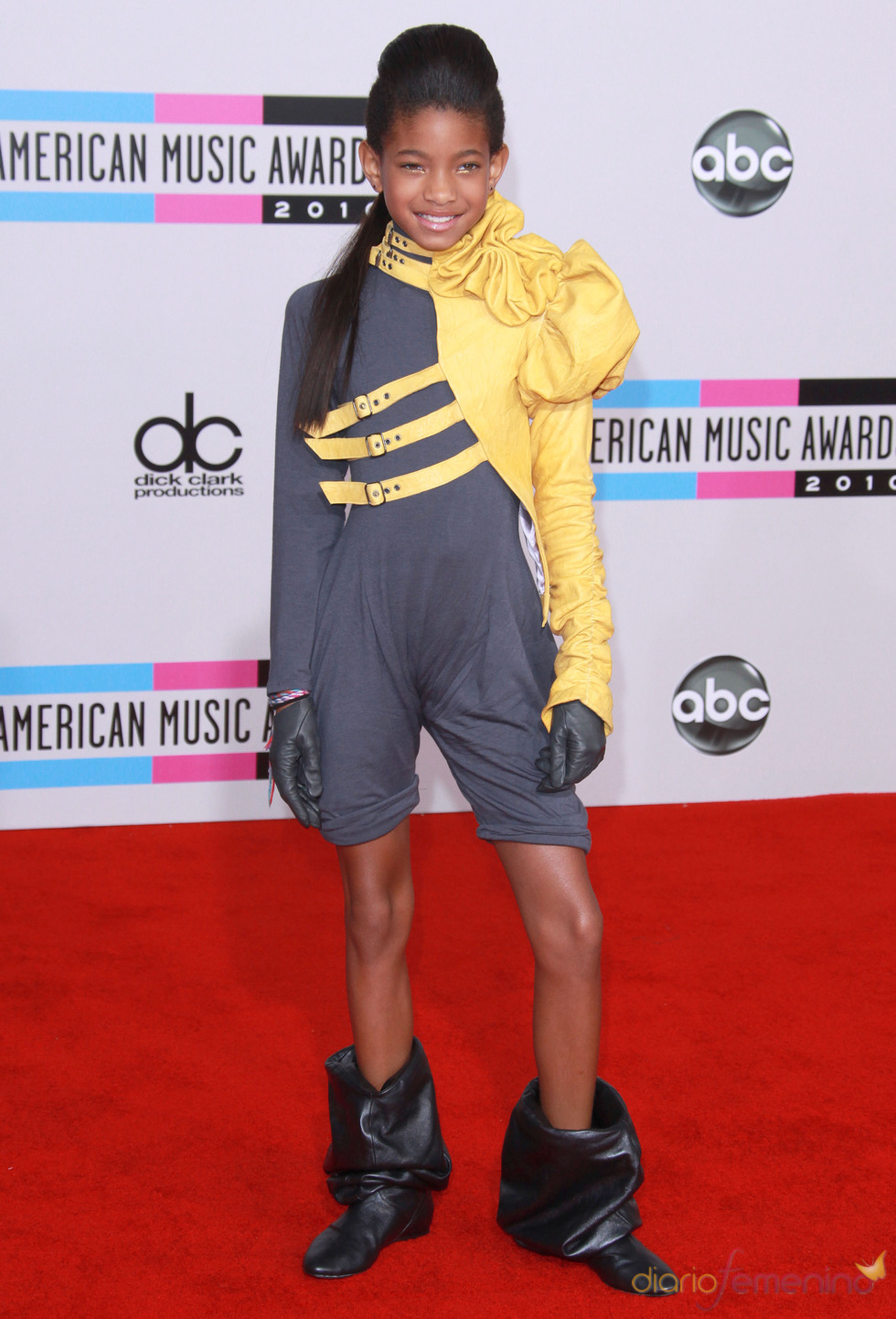 Willow Smith en los American Music Awards 2010