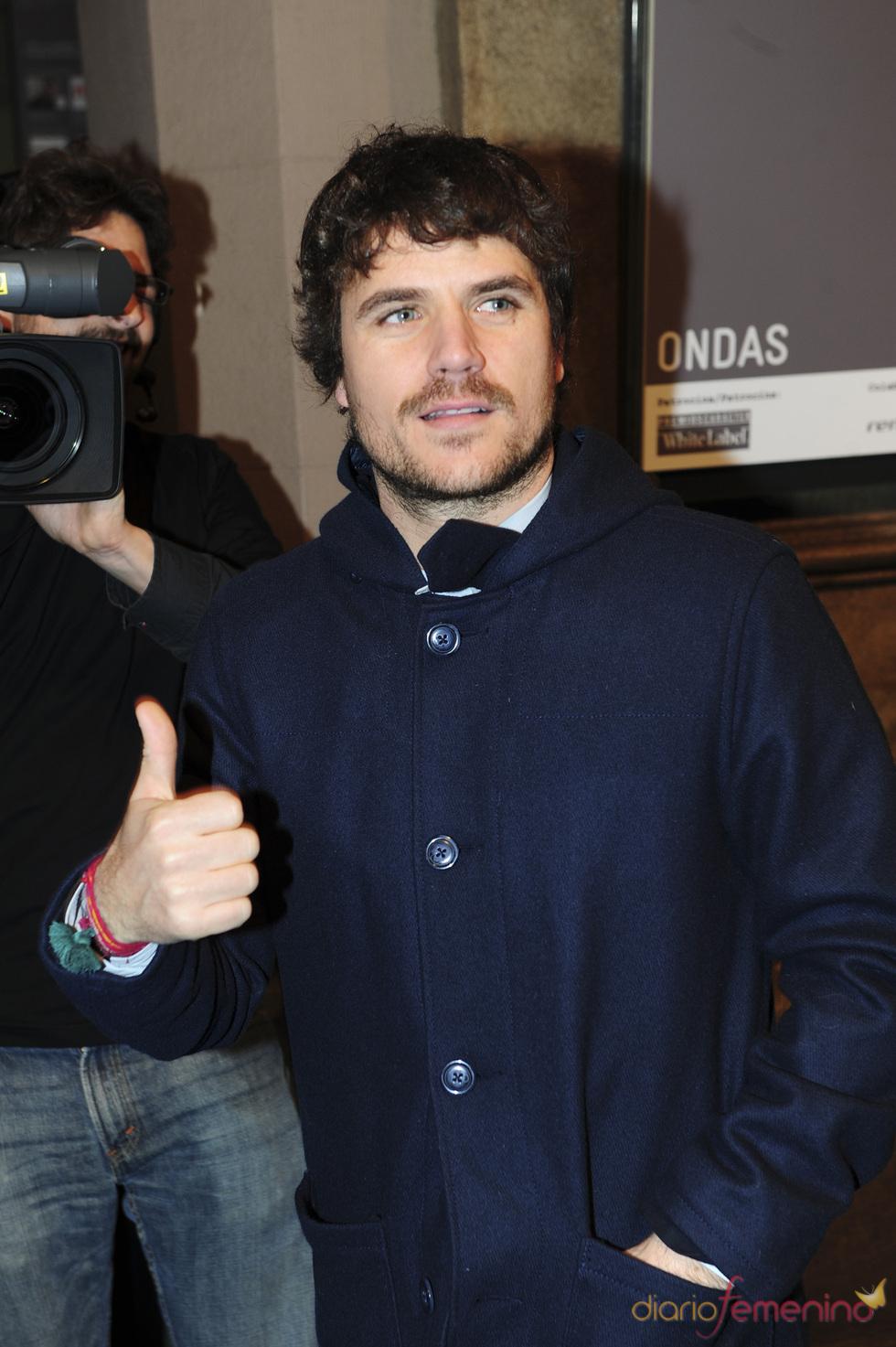 Dani Martín en los premios Ondas 2010