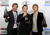 The Band Muse en los American Music Awards 2010