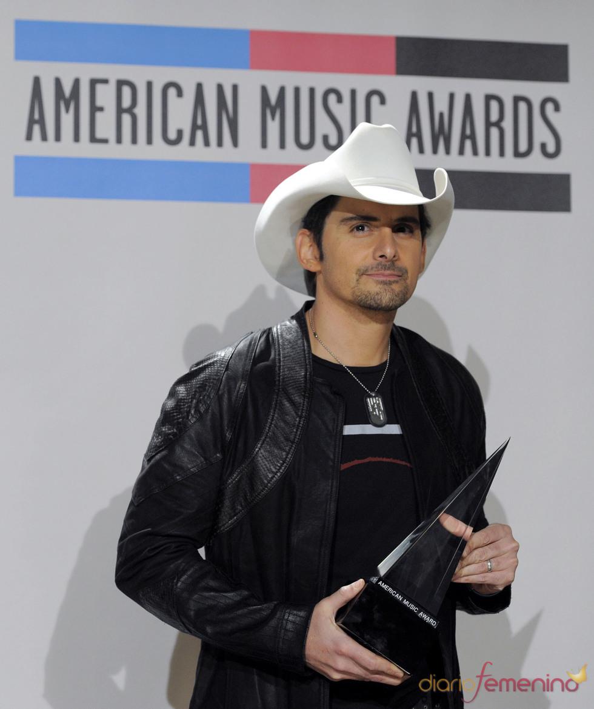 Brad Paisley en los American Music Awards 2010