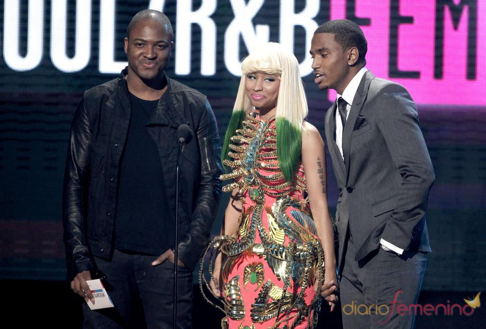 Taio Cruz, Nicki Minaj y Trey Songz no faltaron a los American Music Awards 2010