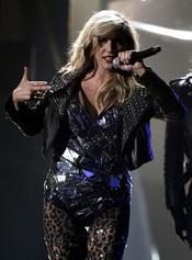 Ke$ha en la entrega de los American Music Awards 2010