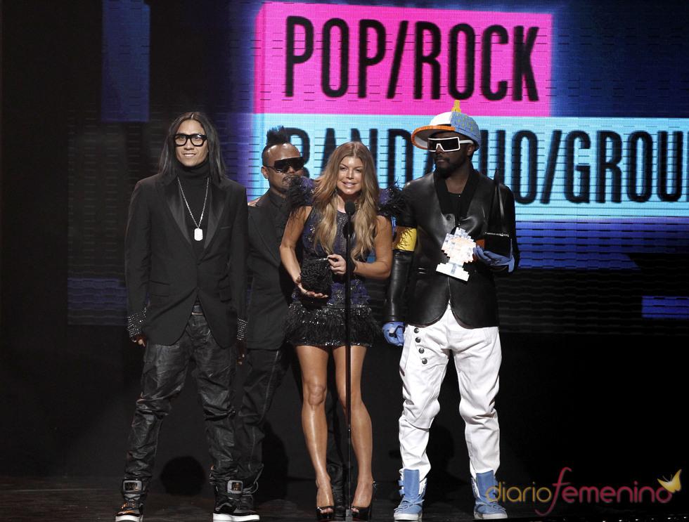 The Black Eyed Peas se llevaron el galardón al mejor grupo en los AMA 2010