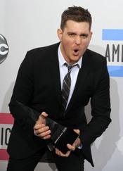 Michael Bublé en la gala de los American Music Awards 2010