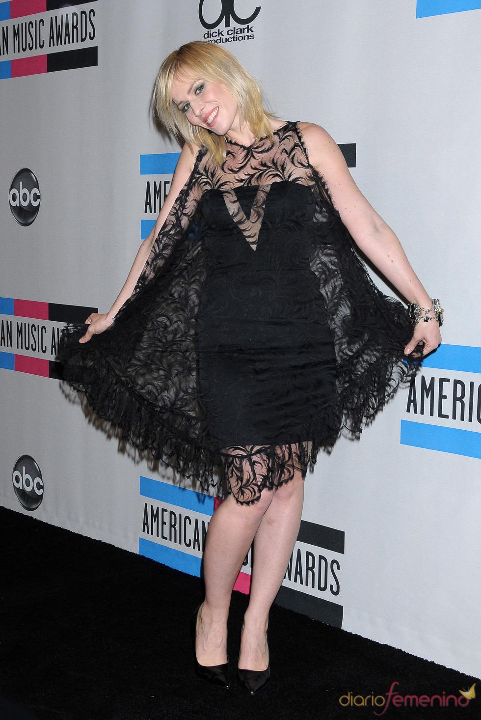 Natasha Bedingfield asistió a los American Music Awards 2010