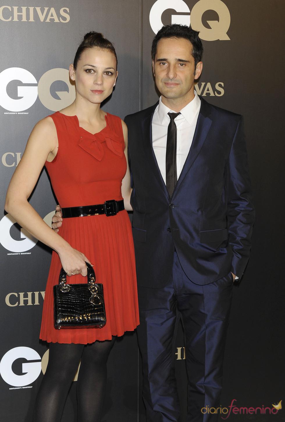 Leonor Watling y Jorge Drexler en los premios españoles GQ 2010