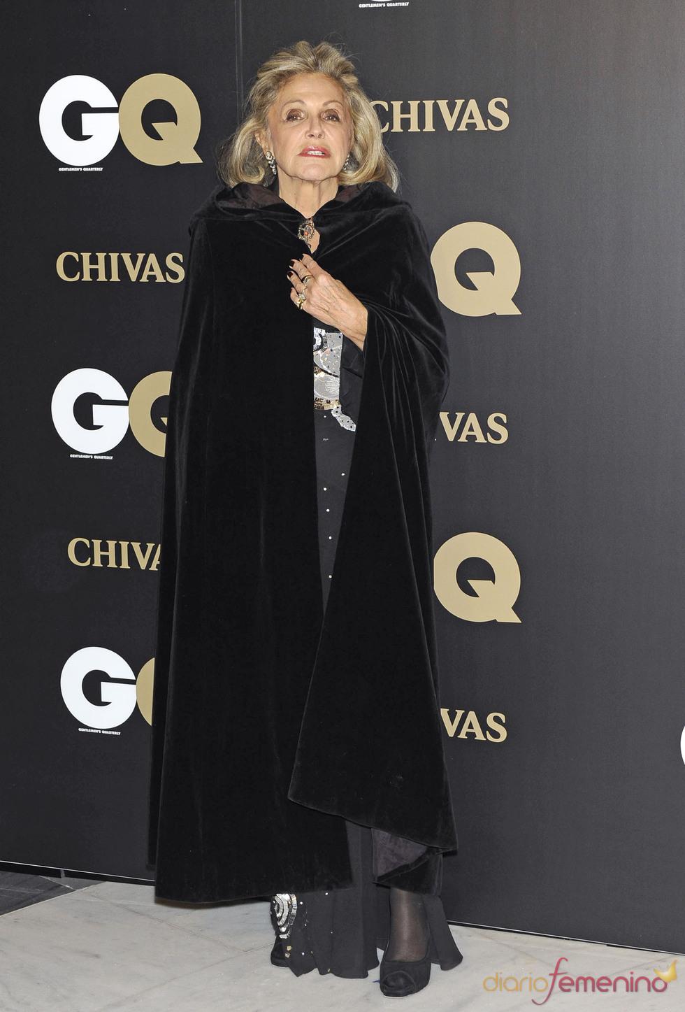 Beatriz de Orleans en los premios españoles GQ 2010