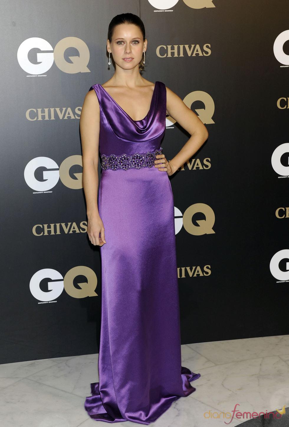 Manuela Velles en los premios españoles GQ 2010