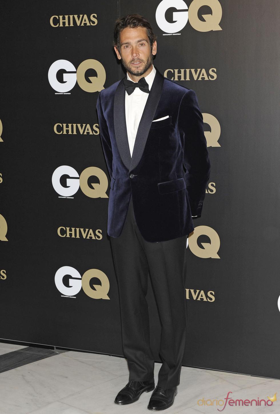 Sabastián Palomo en los premios españoles GQ 2010