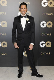 David Meca en los premios españoles GQ 2010