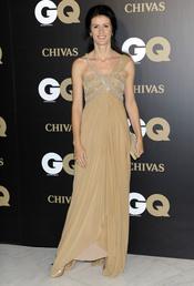 Nuria March en los premios españoles GQ 2010