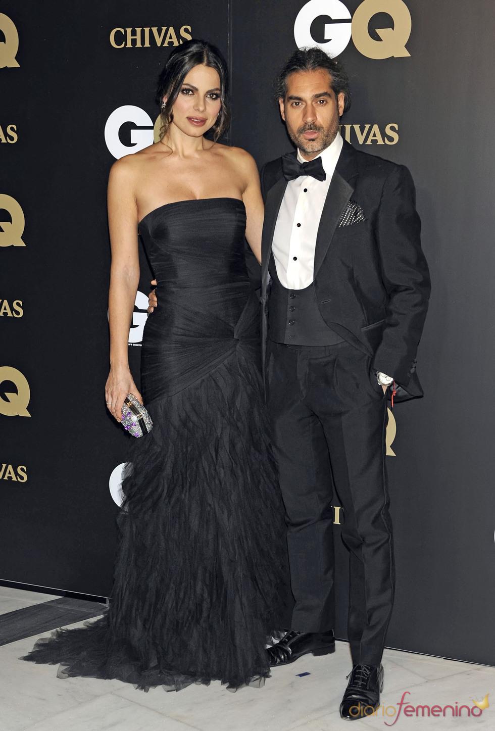 Marisa Jara y Vicente Escribano en los premios españoles GQ 2010