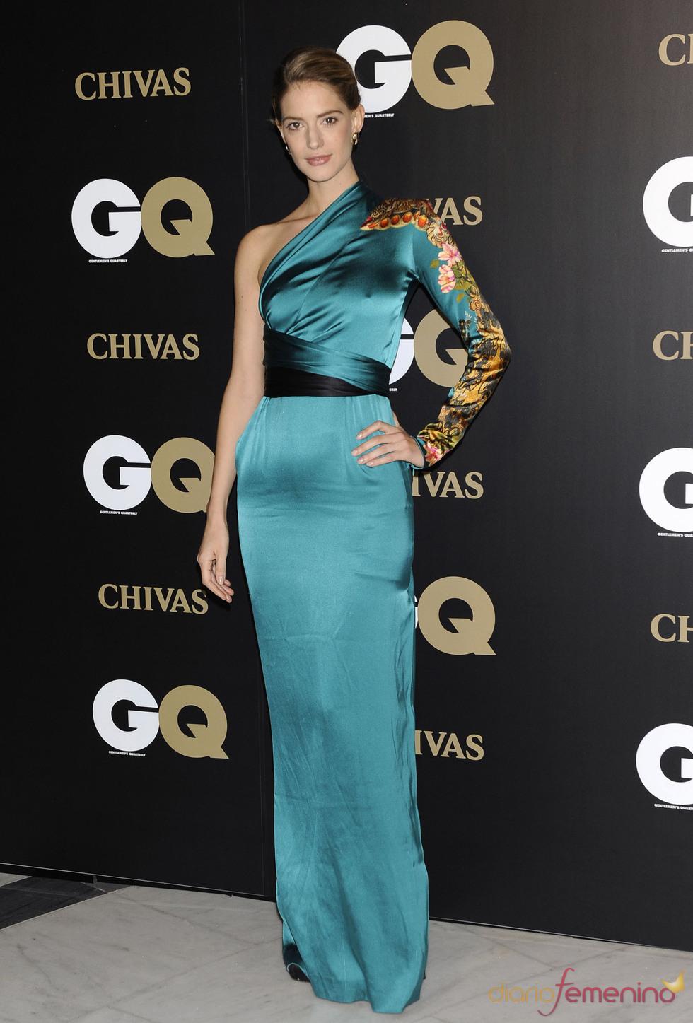 Teresa Baca Astolfi en los premios españoles Gq 2010