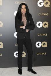 Mario Vaquerizo en los premios españoles GQ 2010