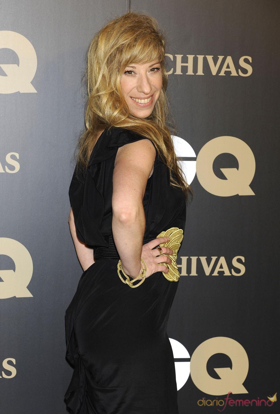Natalie Seseña en los premios españoles GQ 2010