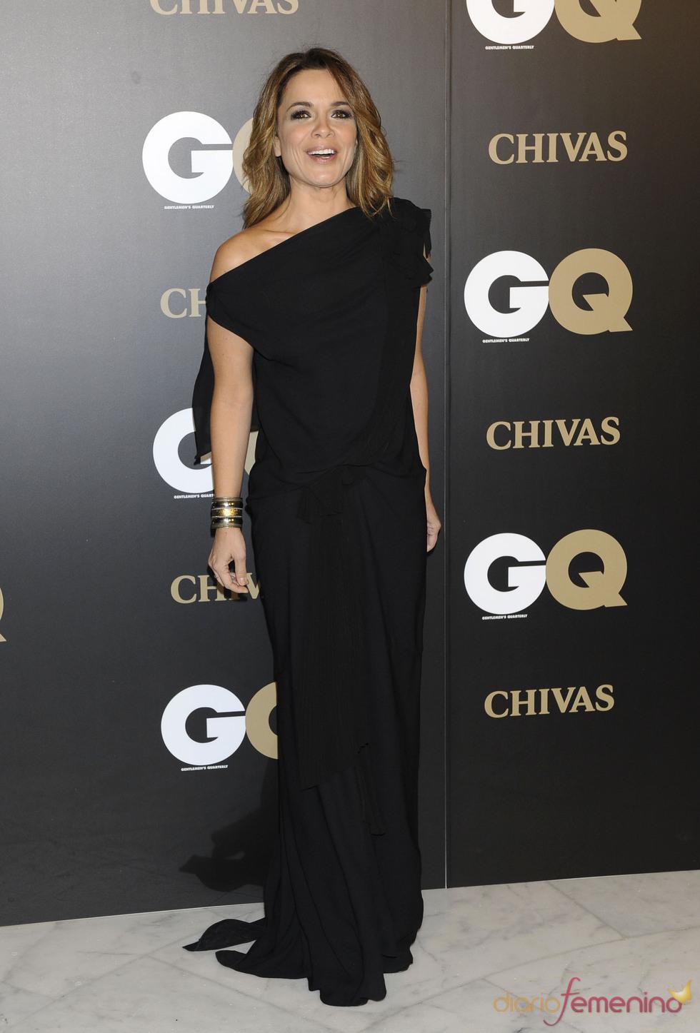 Carme Chaparro en los premios españoles GQ 2010