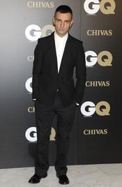 David Delfin en los premios españoles GQ 2010