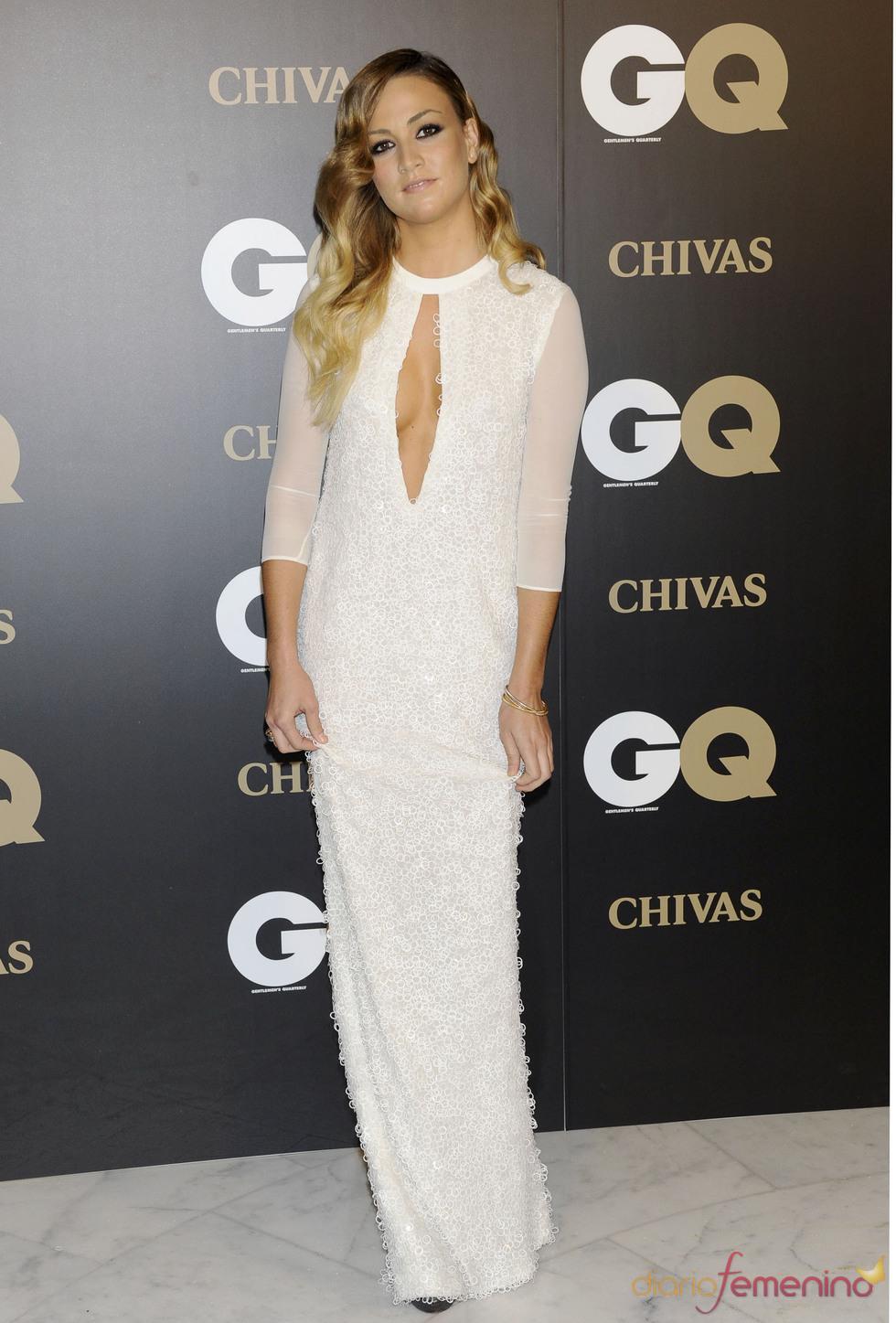 Carmen Jordá en los premios españoles GQ 2010