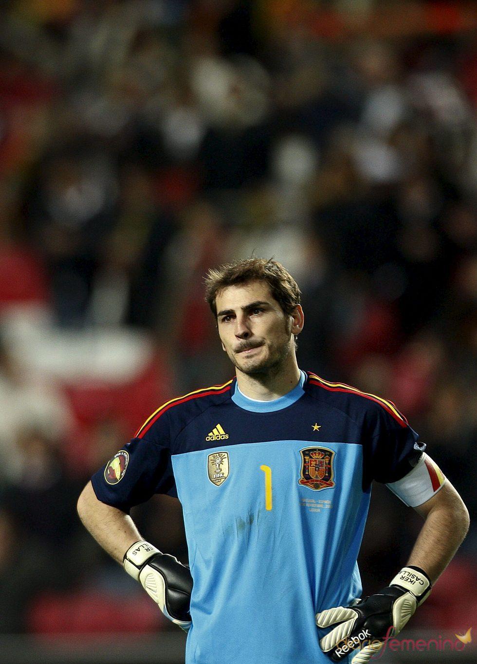 Iker Casillas, un deportista solidario